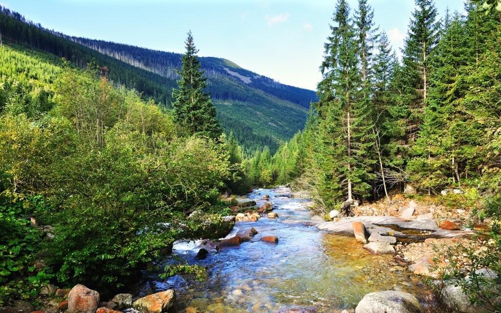 Turistika v Krkonoších, letní dovolená