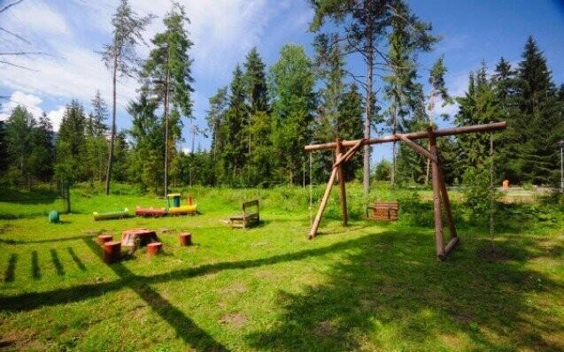 Kemping Léto dovolená Bystrina Sleva pobyt cyklo rodinná dovolená