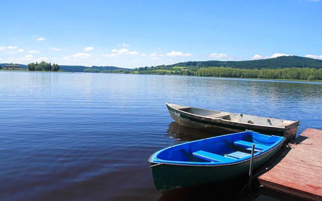 Lipenská přehrada, Šumava, jižní Čechy