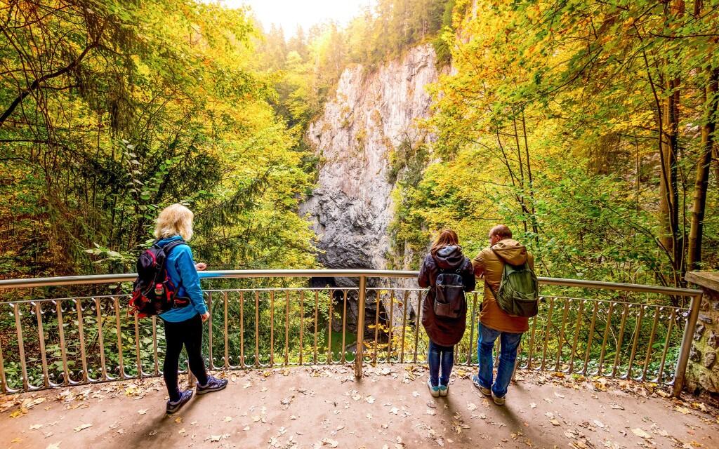 Navštivte Moravský kras a jeho jeskyně