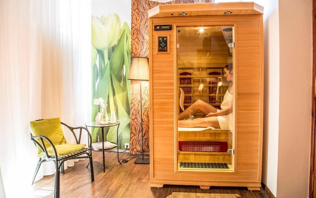 Wellness centrum so saunou, Parkhotel Morris Nový Bor