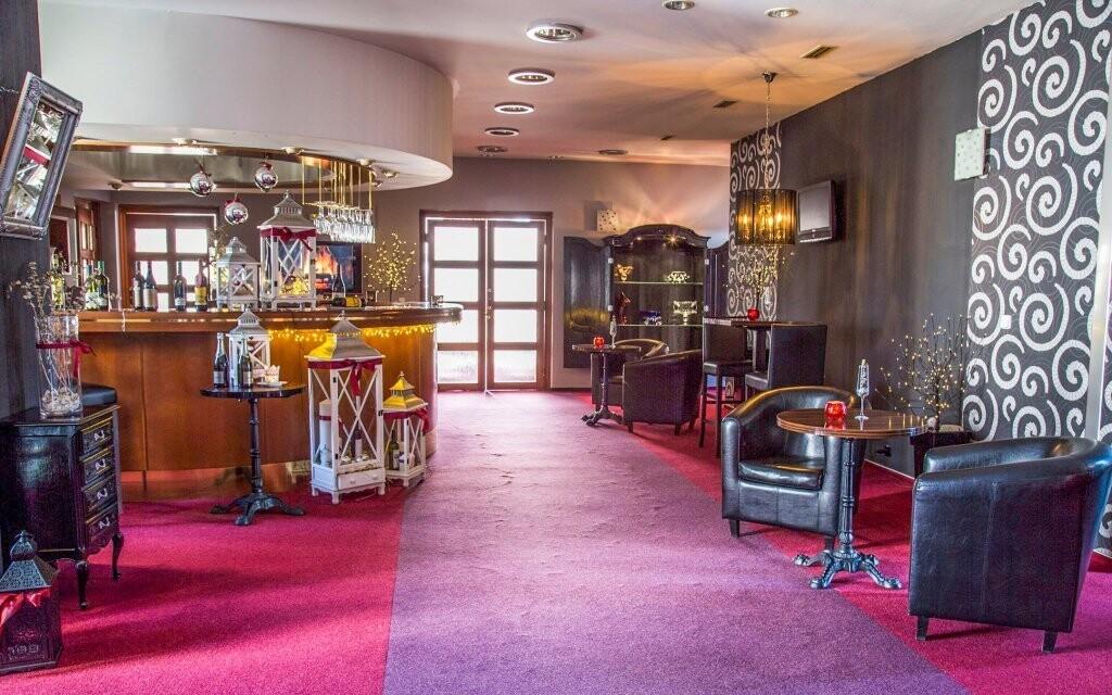 Luxusné interiéry Parkhotela Morris Nový Bor