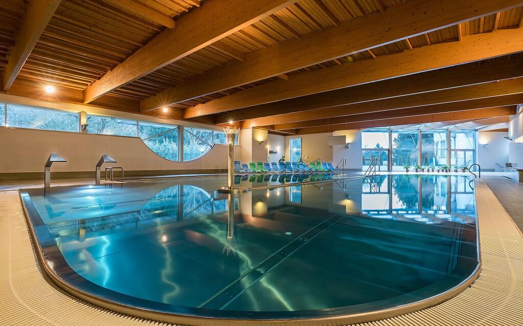 Užijte si wellness centrum s bazénem