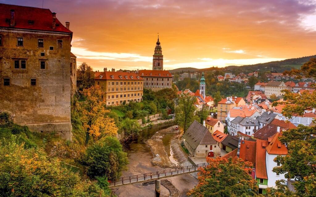 Vydejte se na výlet do Českého Krumlova, jižní Čechy