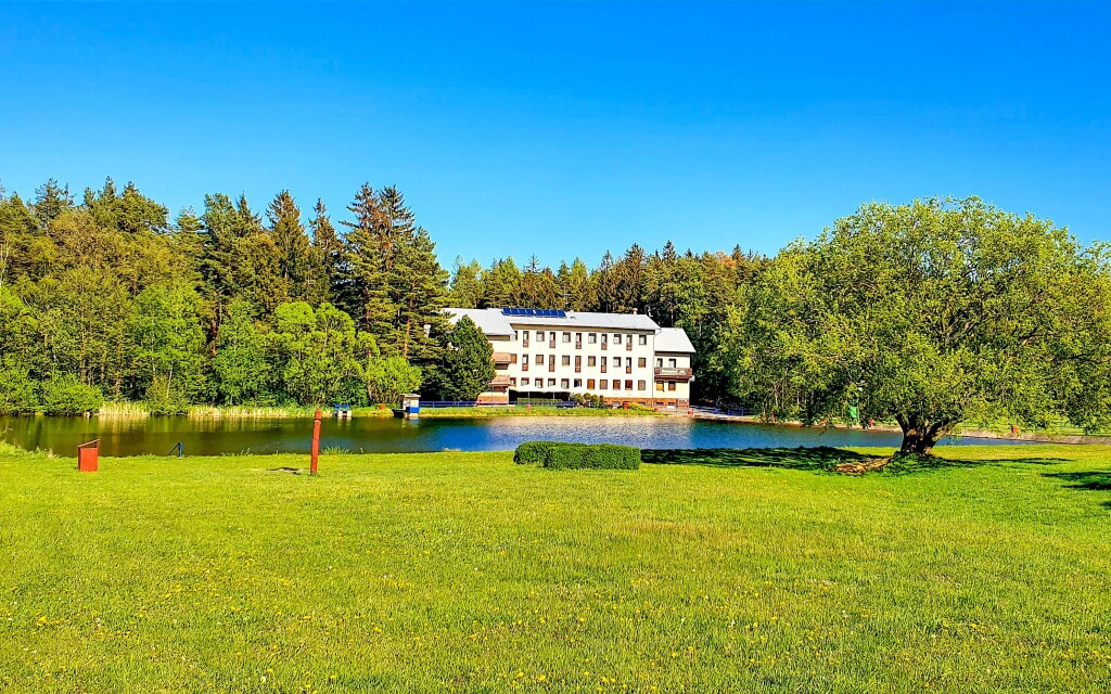 Hotel Renospond na Vysočině vhodný pro rodiny s dětmi