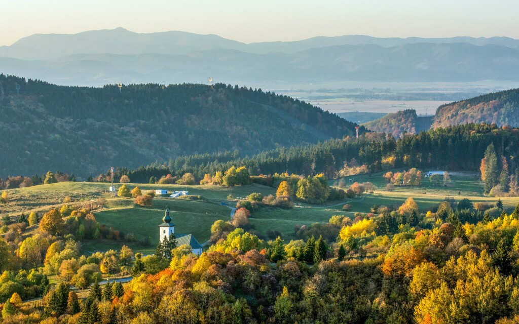 Kremnické vrchy pri Banskej Bystrici