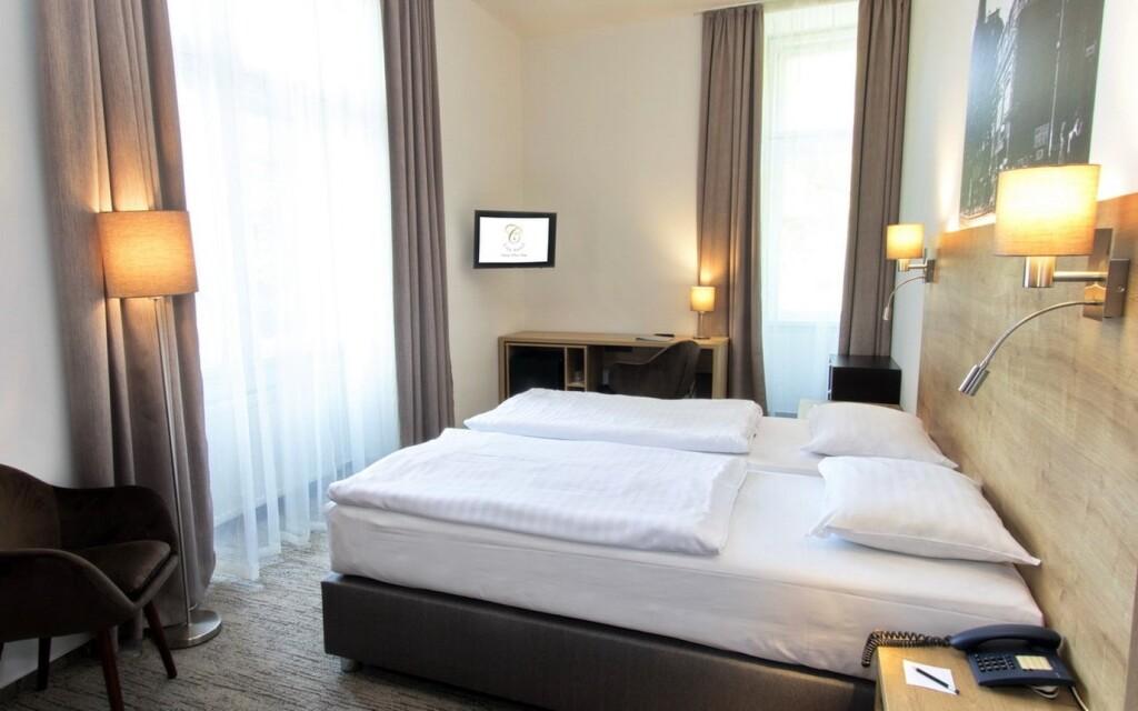 Moderné izby Standard s možnosťou prístelky