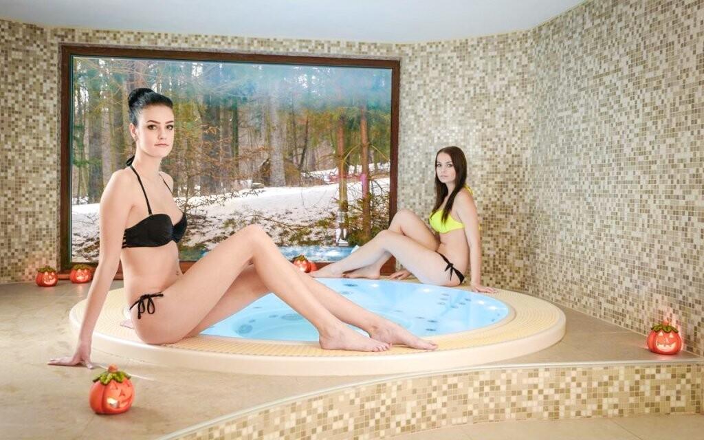 Vírivka vo wellness Hoteli Radějov ****, Biele Karpaty