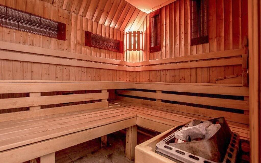 Pomyselnou čerešničkou komplexu sú sauny