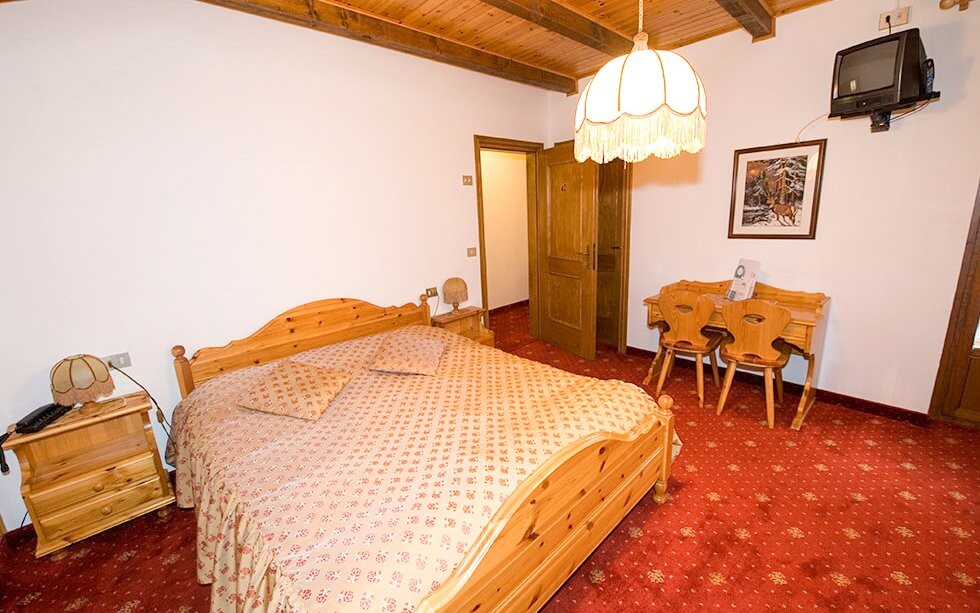 Komfortní pokoje, Hotel Villa Eden ***, italské Dolomity