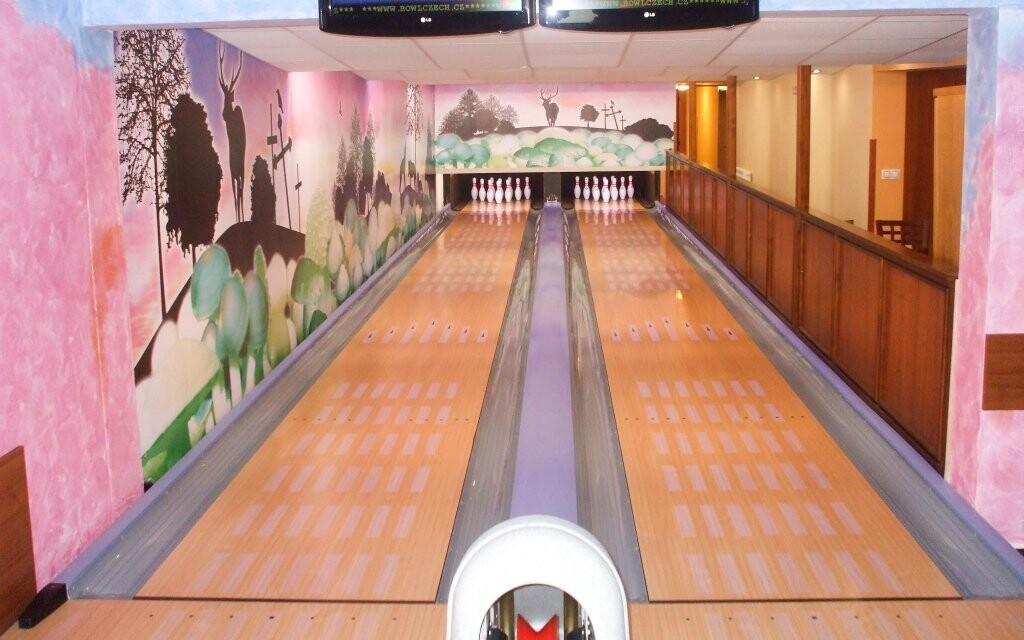 Bowling, Rekreačné stredisko Rybník, Český les