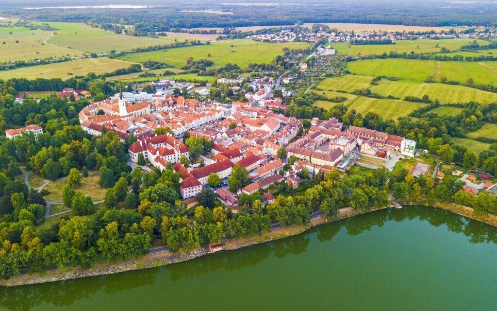 Třeboň, mesto rybníkov, južné Čechy