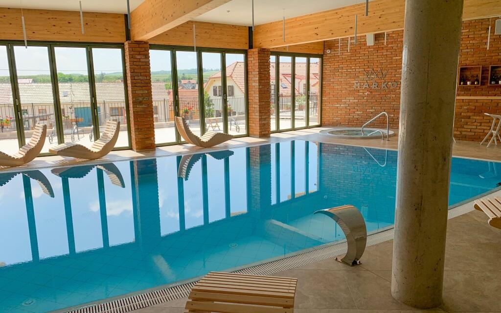 Perfektný relax zažijete v novom wellness s bazénom, Valtice