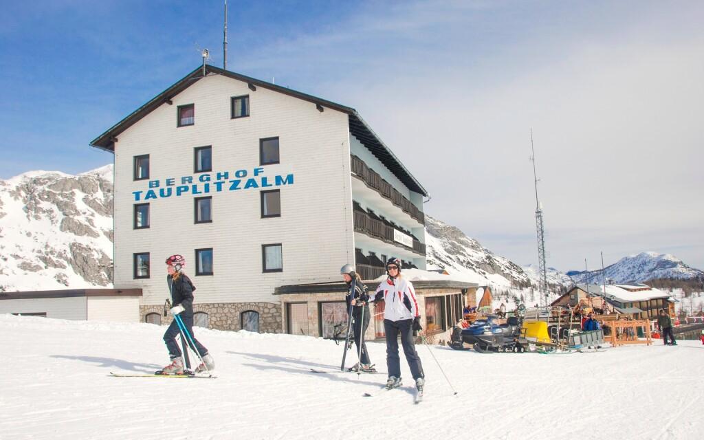 Hotel Berghof *** Tauplitzalm pri stanici lanovky
