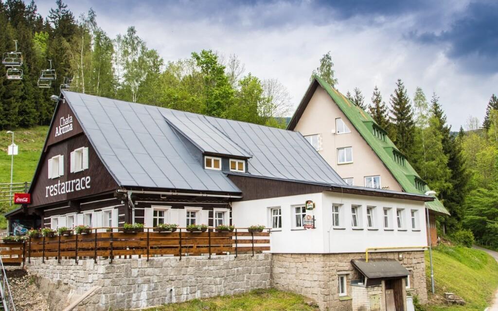 Ubytujte sa v horskej Chate Akuma, Rokytnice nad Jizerou