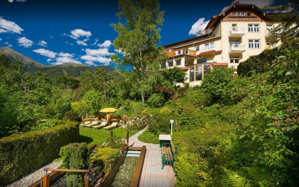 Bad Gastein sa pýši prekrásnou prírodou, Hotel Alpenblick