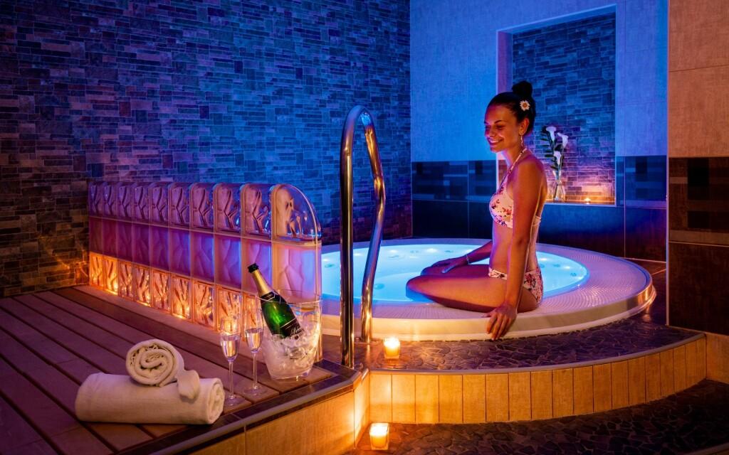 Privátne wellness, vírivka, Hotel Bon, Tanvald