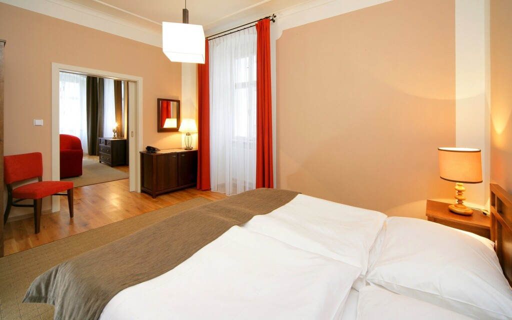 Interiéry apartmánu v Hotelu U Zvonu ***, Vrchlabí, Krkonoše