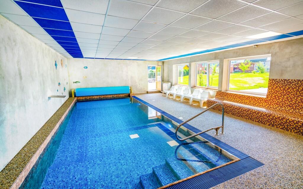 Wellness, bazén, Hotel Park ***, Branná, Jeseníky