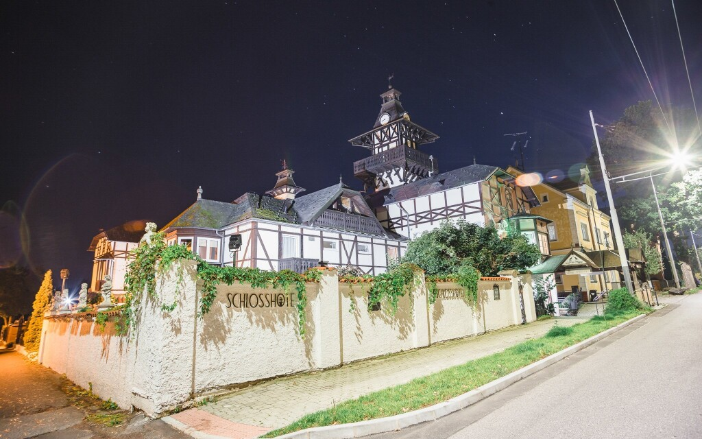 Zámecký hotel Schlosshotel Marienbad *** Mariánské Lázně