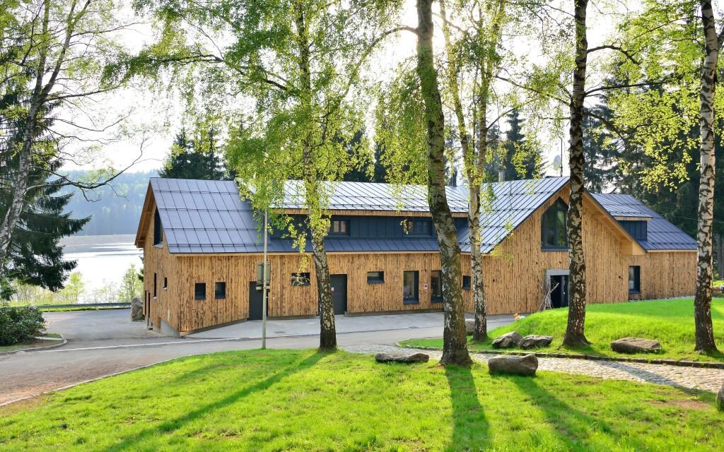 Moderní Resort Montanie uprostřed lesů Jizerských hor