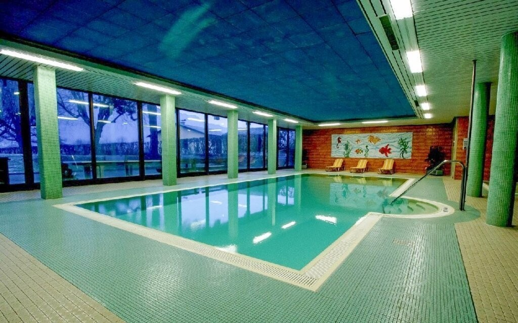 Bazén môžete počas pobytu neobmedzene využívať