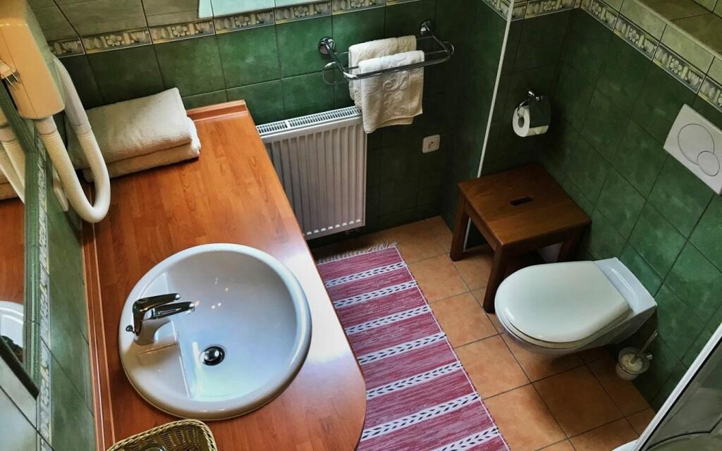 Kúpelňa v Hoteli Na Dolině *** Frenštát pod Radhoštěm