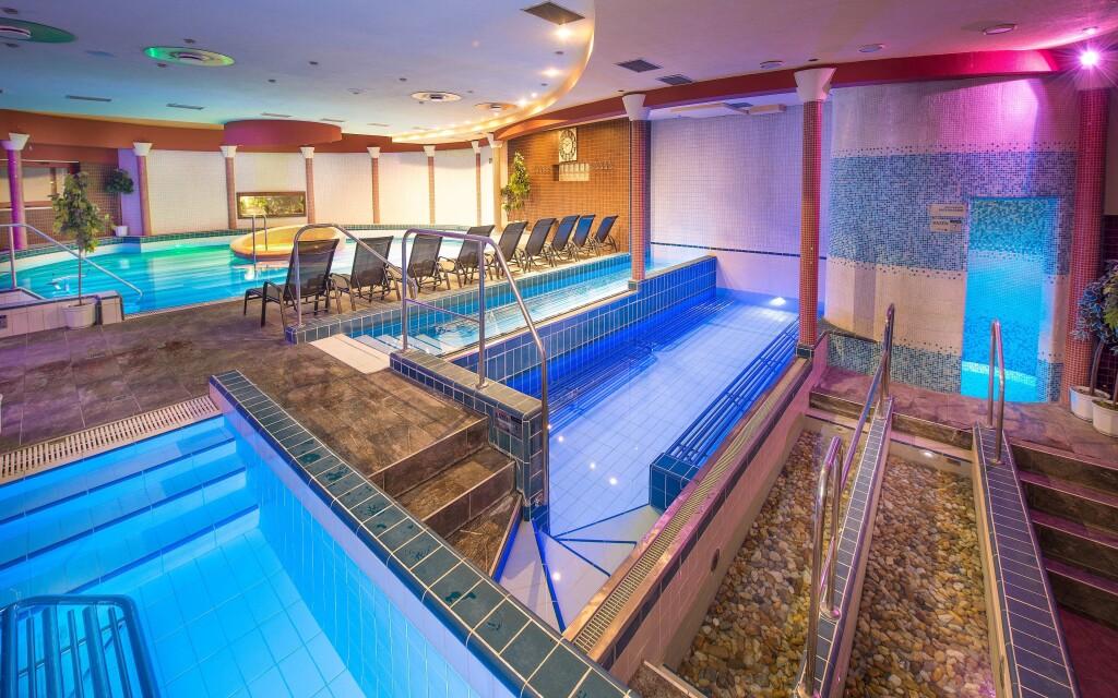 Luxusné wellness, bazén, Hotel Therma ****, Dunajská Streda