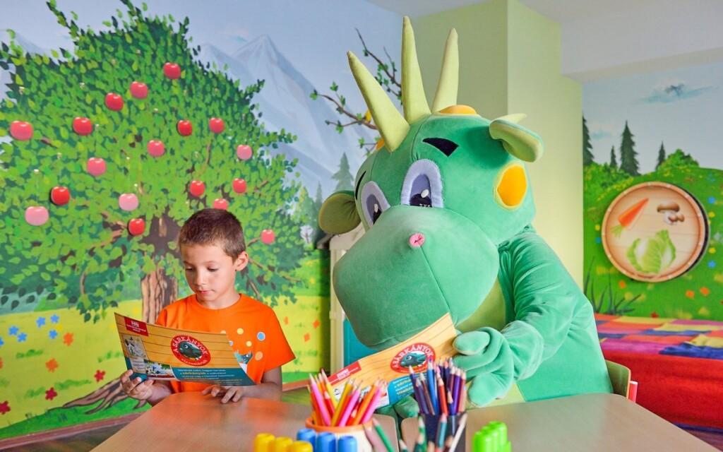 Animácie, detský klub, detská herňa, Danubius Hotel Marina