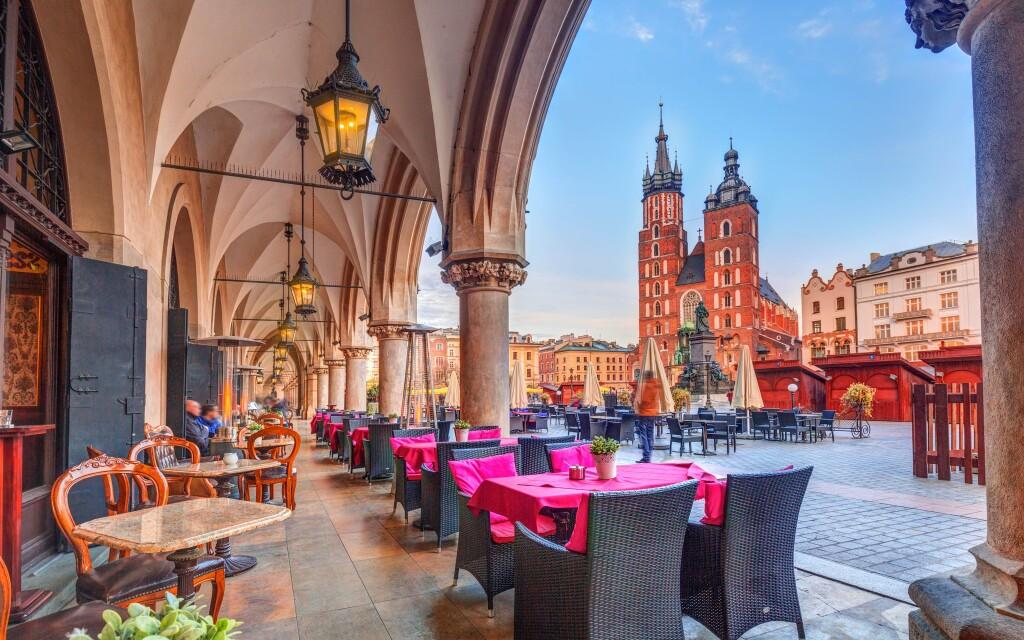 Vychutnejte si krásné centrum Krakova