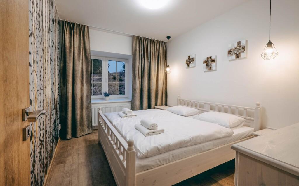 Interiéry apartmánu, Wellness Hotel Marta, Žďárské vrchy
