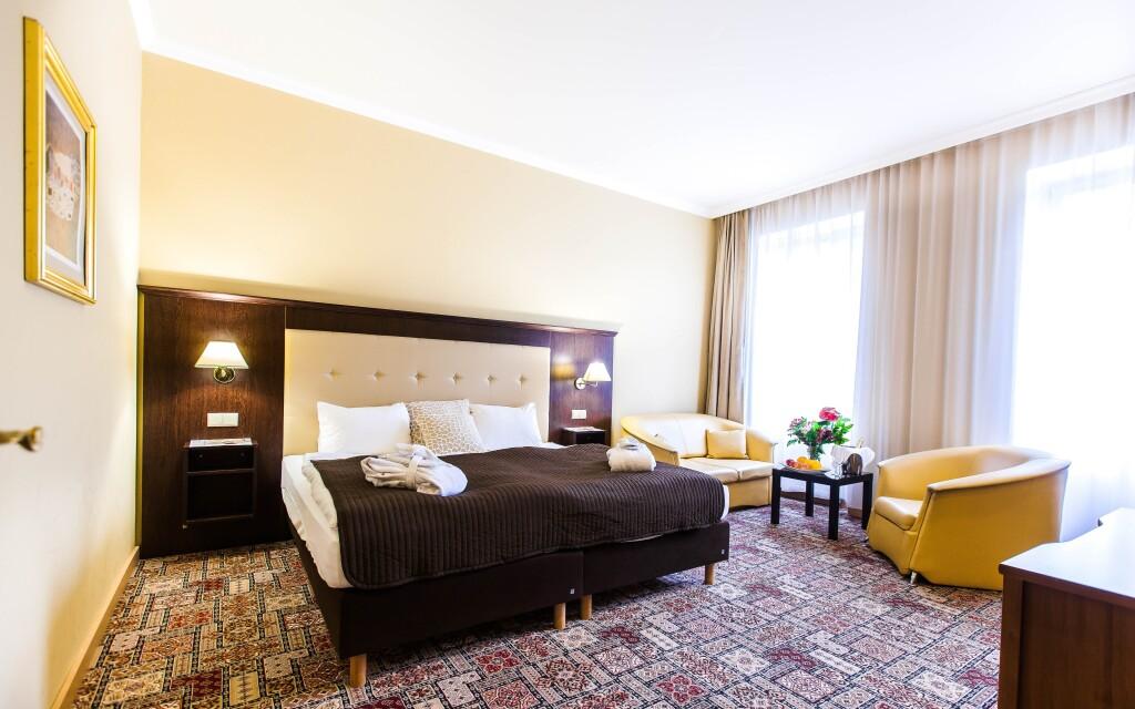 Interiéry izieb, Hotel Panorama Spa ****, Karlove Vary