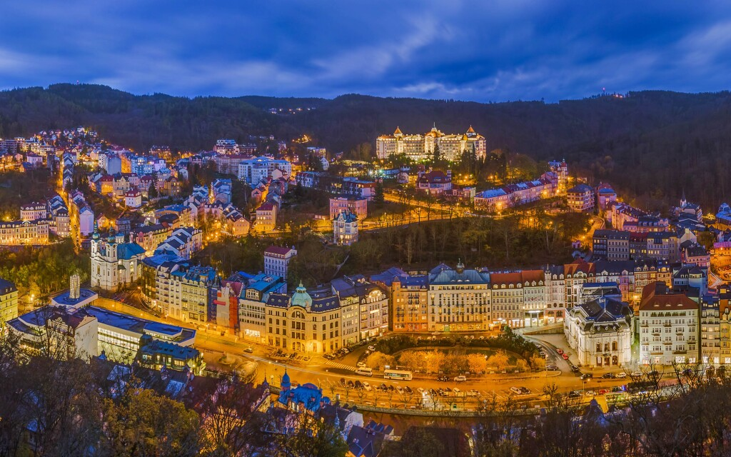 Z Hoteli Panorama Spa **** budete mať výhľad na centrum