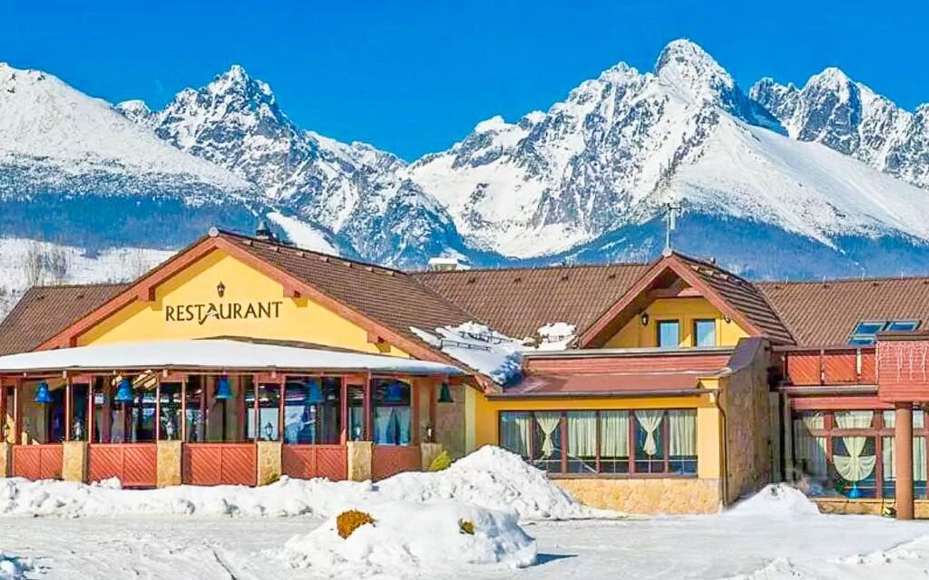 A Magas-Tátra szívében épült Hotel Amália ***, Szlovákia