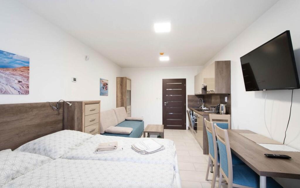 Ubytujte sa v moderne zariadených Apartmánoch Kyjev