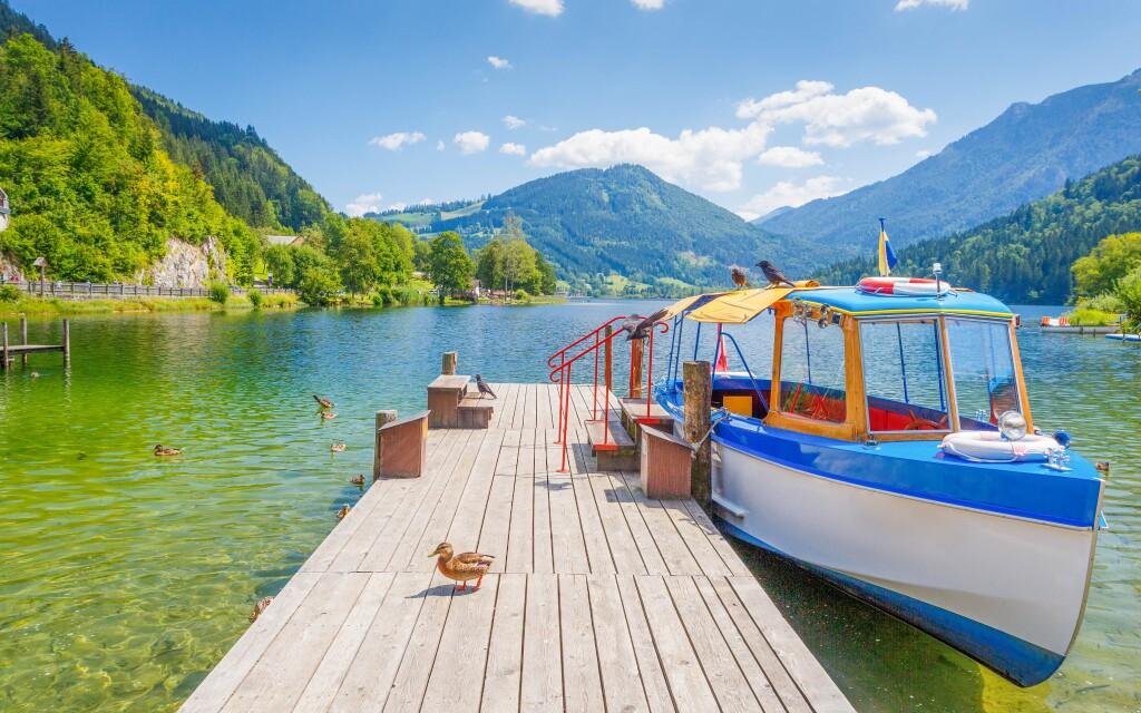 K jazeru Lunz am See to budete mať kúsok