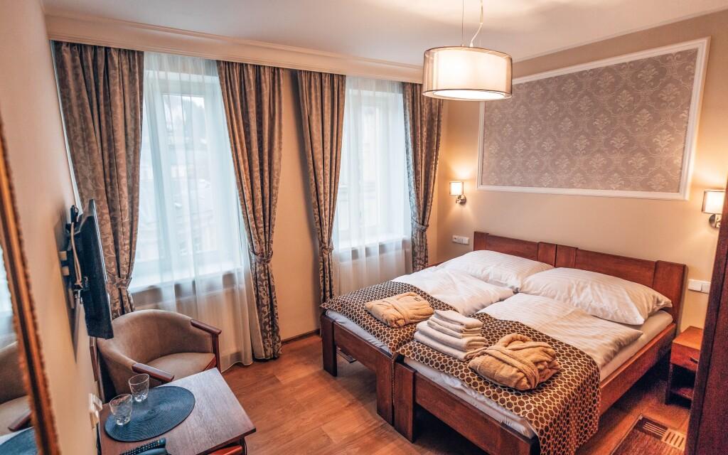 Luxusní pokoje, Star Hotel ****, Karlovy Vary