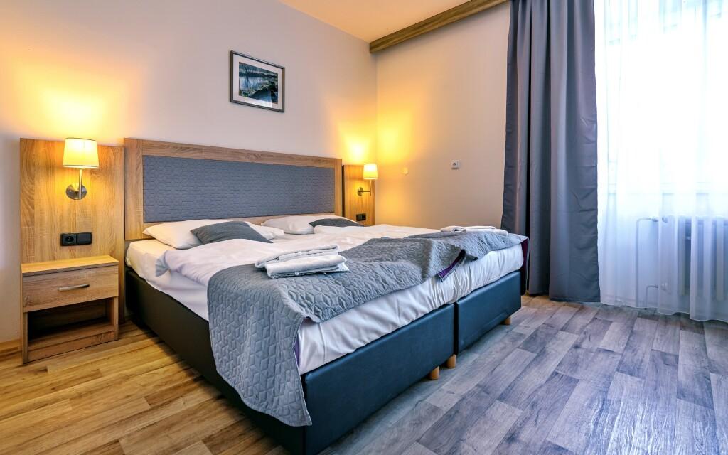 Izby, Hotel Swing ***, Černá v Pošumaví, Šumava, Lipno