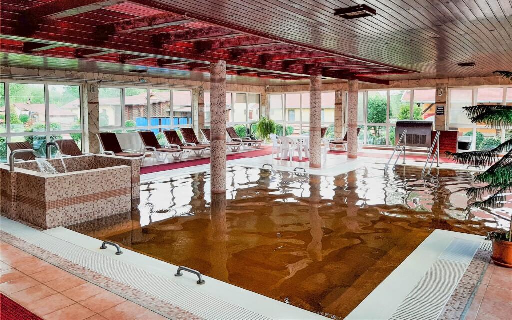 A Ligetalja Termál Hotel *** termálfürdőhöz kapcsolódik