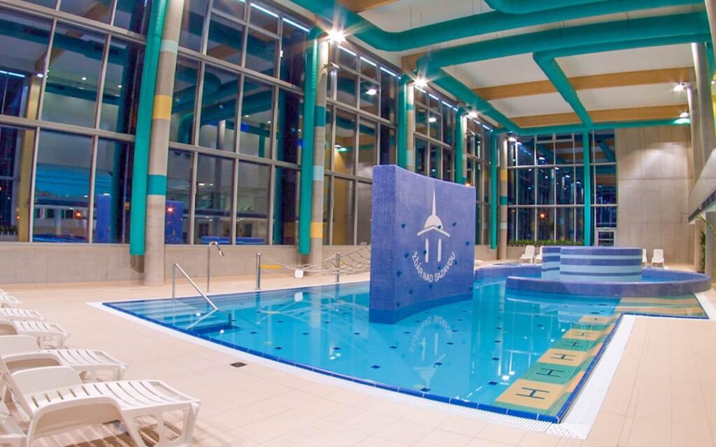 Relaxačné centrum s bazénmi a saunami, Žďár nad Sázavou