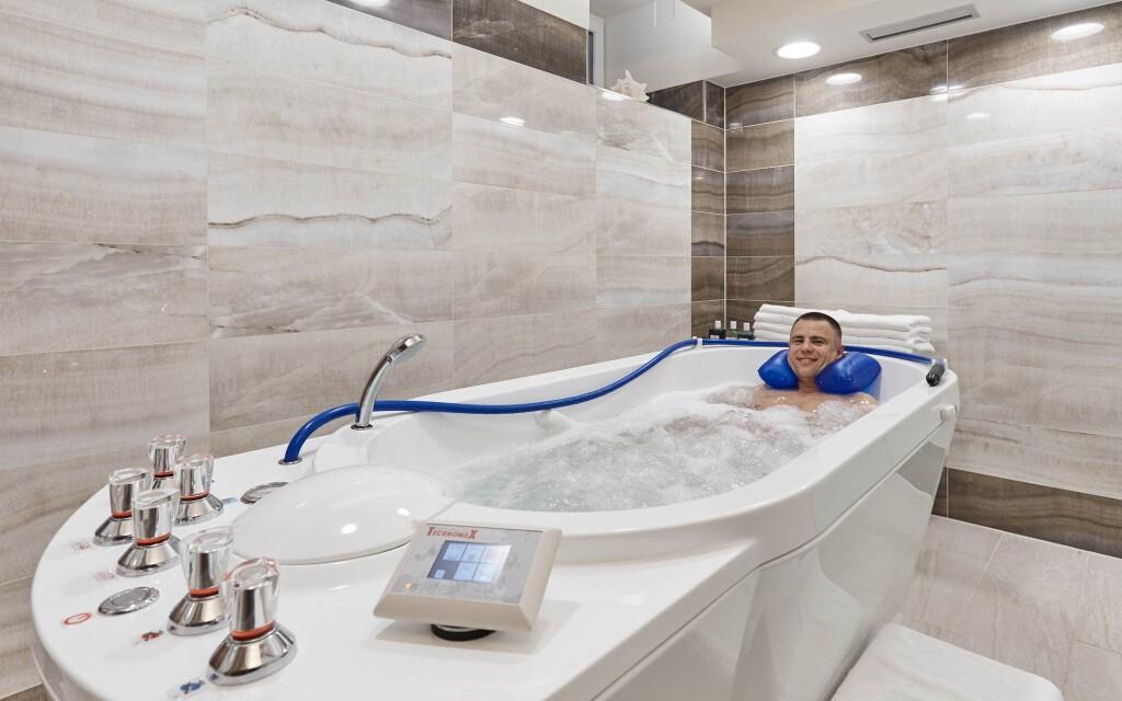 Vířivá koupel, Park Spa Hotel Sirius, Karlovy Vary