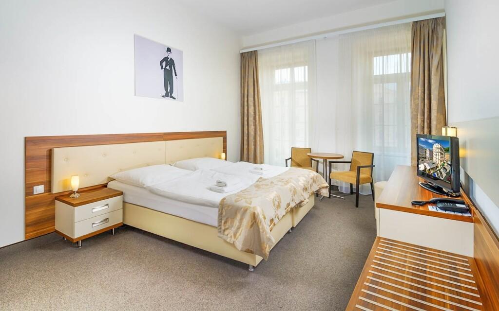 Dvojlôžková izba, Hotel Malta ****, Karlove Vary