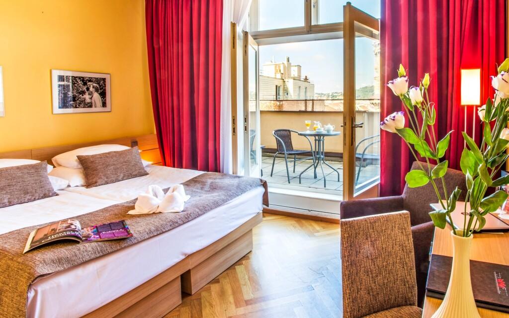 Luxusní pokoje, Hotel Amarilis ****, Praha