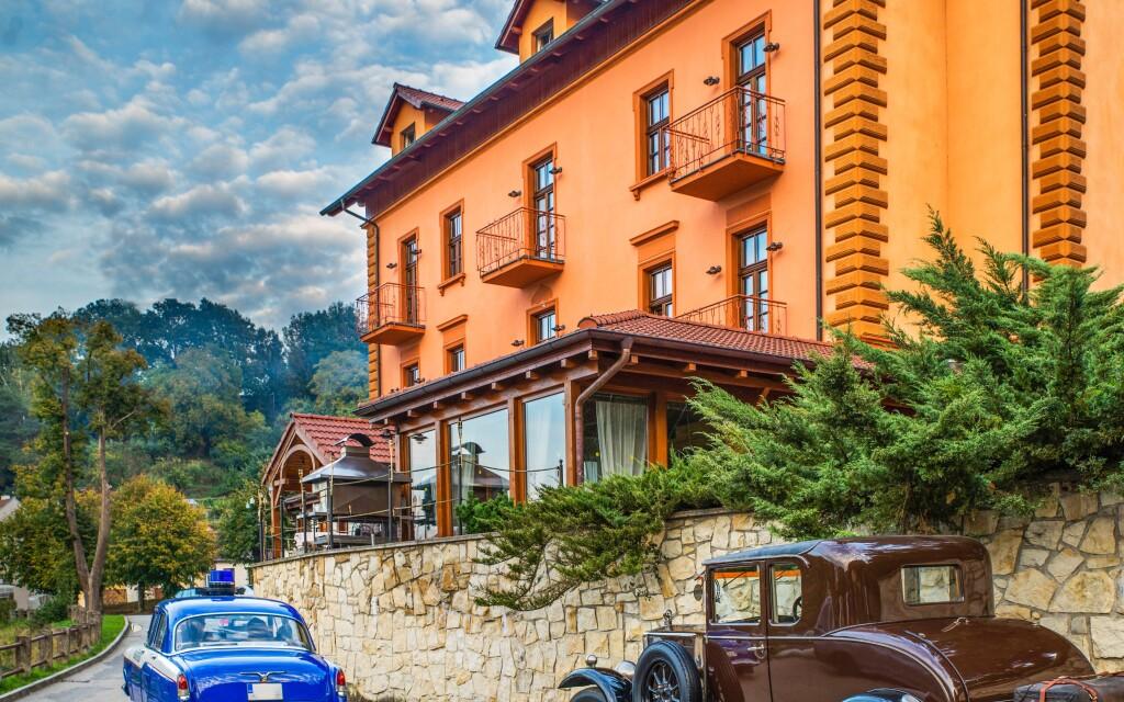 Romantik Hotel Eleonora ***, Tábor, jižní Čechy