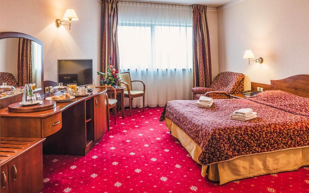 Komfortná izba, Hotel Sympozjum & SPA ****, Krakov