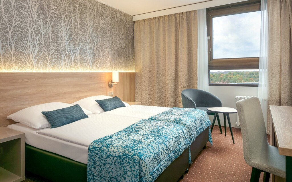 Komfortné posteľe v Double room
