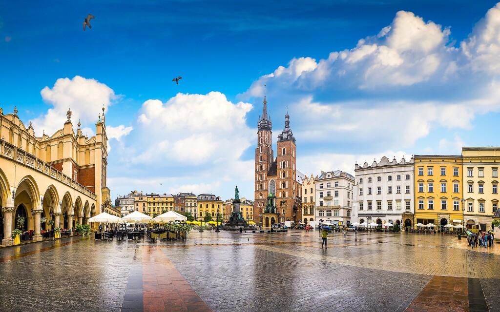 Historické centrum Krakova by měl navštívit každý