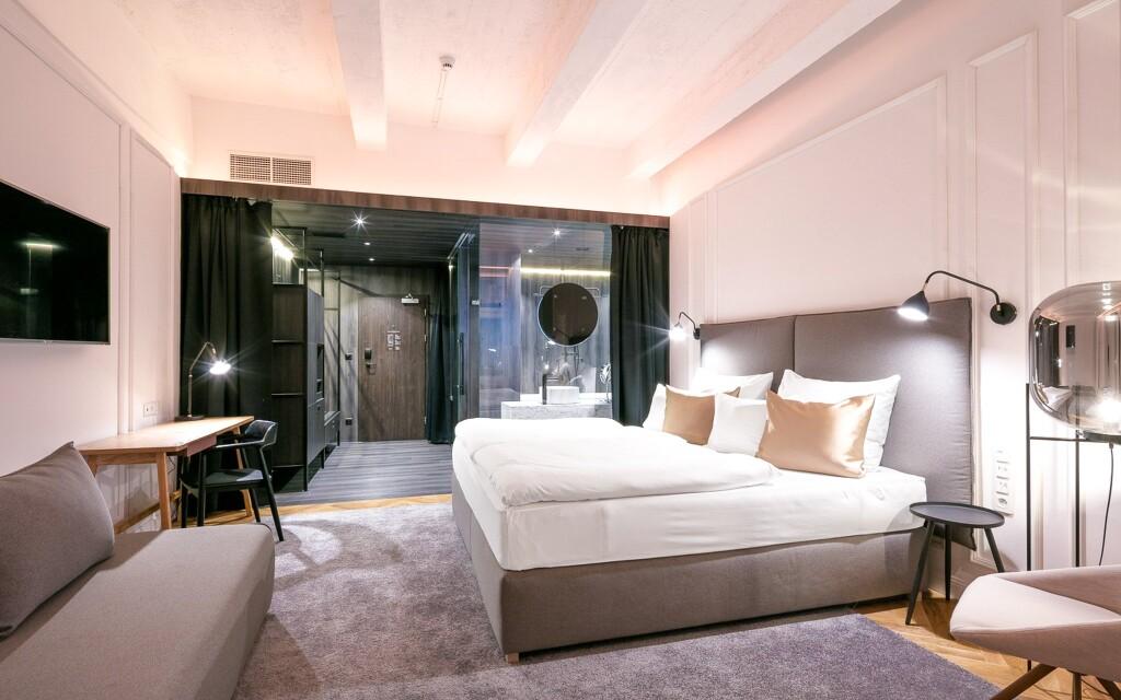Luxusní ubytování v dvoulůžkovém pokoji Superior