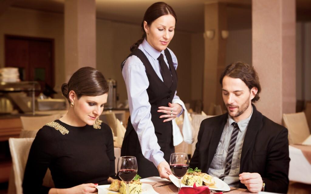 Krásná restaurace v Hotelu Venus ****