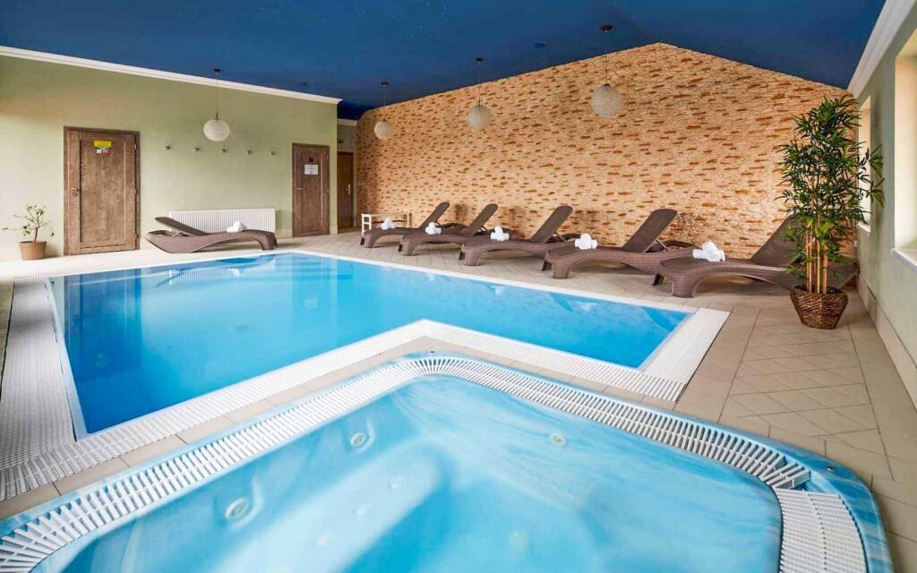 Bazén v Hotelu Amálka ***